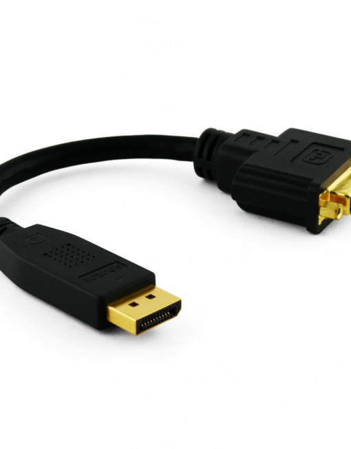 Cablesson DisplayPort to DVI Multimode Short 200mm Cable