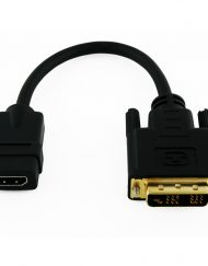 Cablesson DVI (Male) to HDMI (Female) 200mm Short Cable