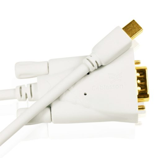 Cablesson - Mini Displayport male to VGA male cable