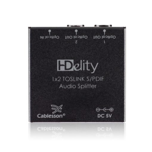 Cablesson HDElity 1x2 Toslink S/PDIF Audio Splitter