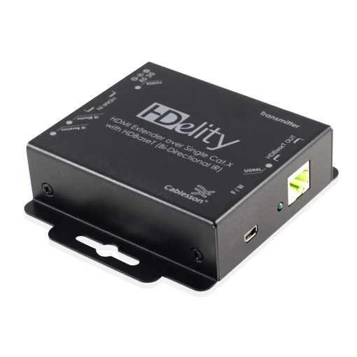 Cablesson HDElity HDMI Extender Over Single Cat.X with HDBaseT (Bi-Directional IR)